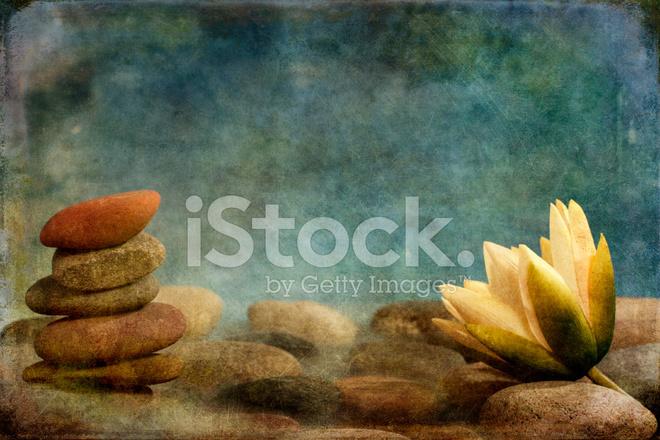 Premium Stock Photo Of Zen Lotus With Stones