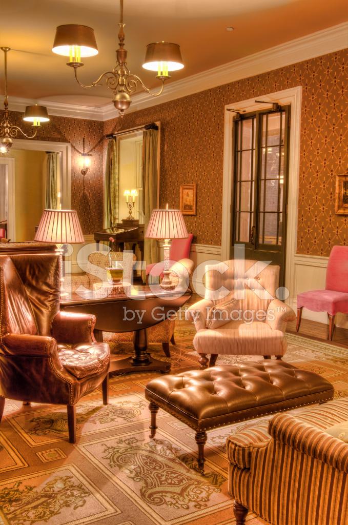 Formale Wohnzimmer Antik Luxus Style Ich Stockfotos Freeimages Com