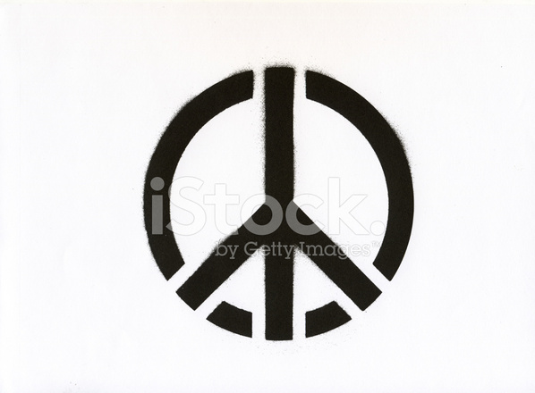 Peace Symbol Graffiti Stock Photos Freeimages