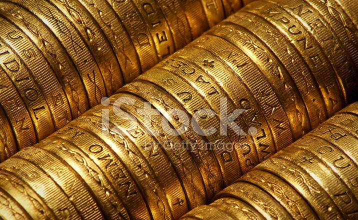 Britische Pfund Münzen Stockfotos Freeimagescom