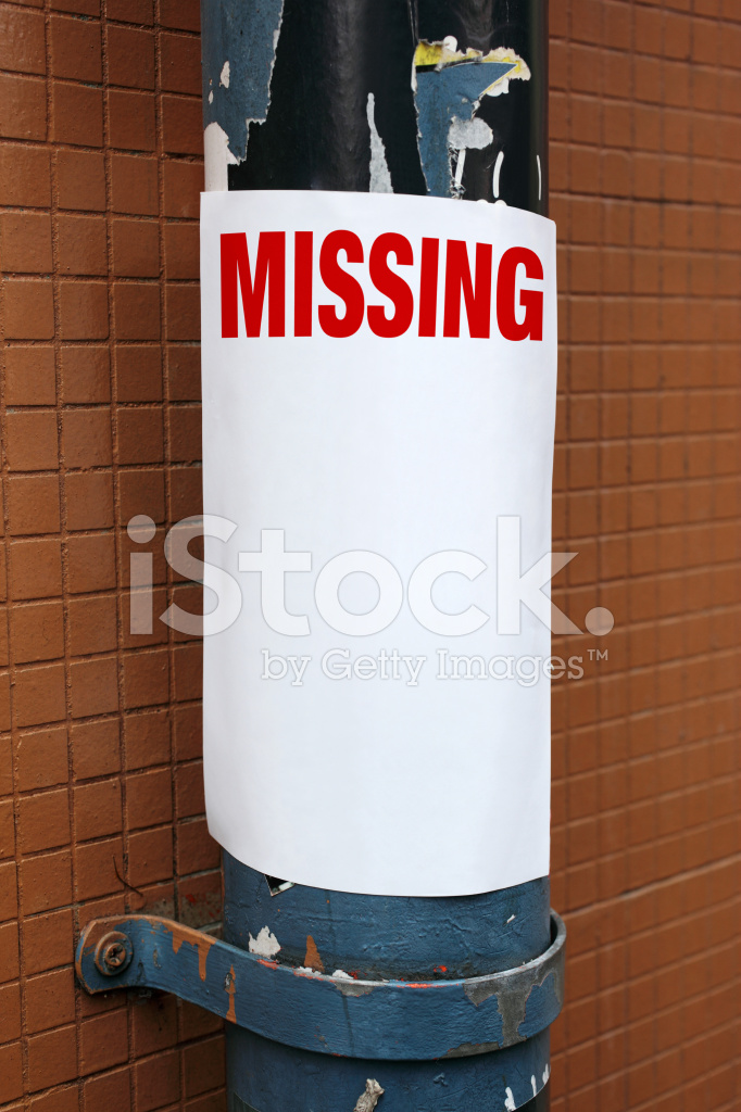 missing poster stock photos freeimages com