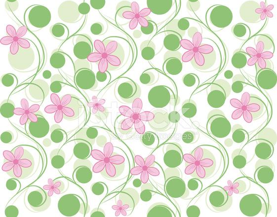 Pattern Di Sfondo Vettoriale Rosa Fiore Senza Soluzione Di