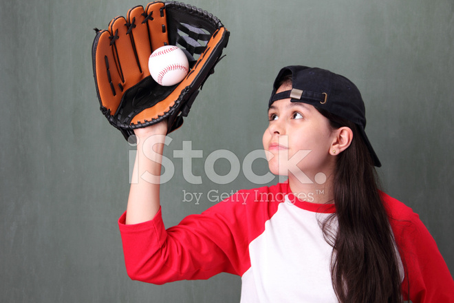 ловлю перчаткой из бейсбола