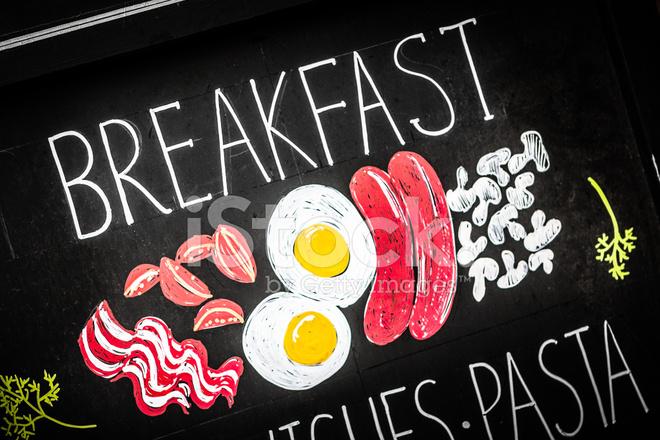 Petit Dejeuner Anglais Sur Tableau Noir Photos Freeimages Com