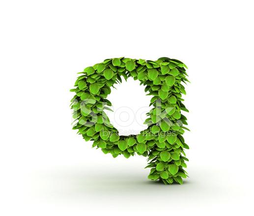 Alfabeto Q Carta DE Hojas Verdes Fotografías de stock - FreeImages.com