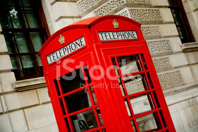 Cabina Telefonica : Cabina telefonica rossa di londra fotografie stock freeimages.com