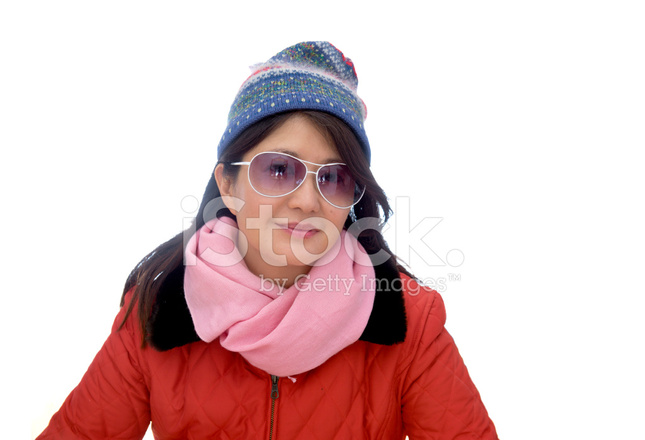 47ee1adad3 Asian Lady IN Snow Wear Stock Photos - FreeImages.com