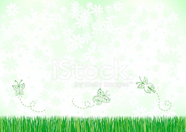 çiçekler Ve Doğa Arka Plan Illüstrasyon Stock Vector Freeimagescom