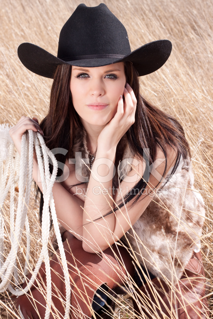 Country Girl Wearing Cowboy Hat Stock Photos - FreeImages.com e6ef620e4c8