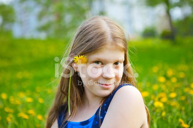 Smiling Beautiful Tween Girl Stock Photos Freeimages Com