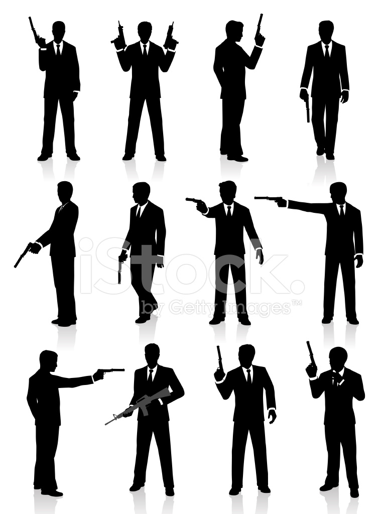 silhouettes of a special agent posing with a gun stock clipart us map with dc clipart us map with dc