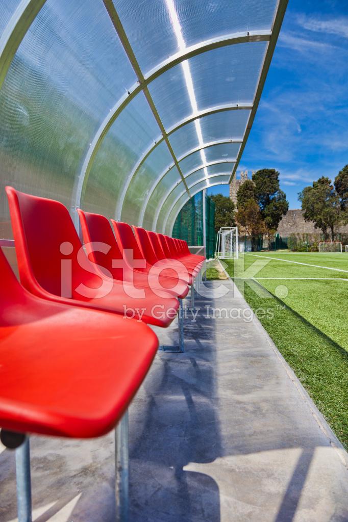 Soccer Bench Stock Photos
