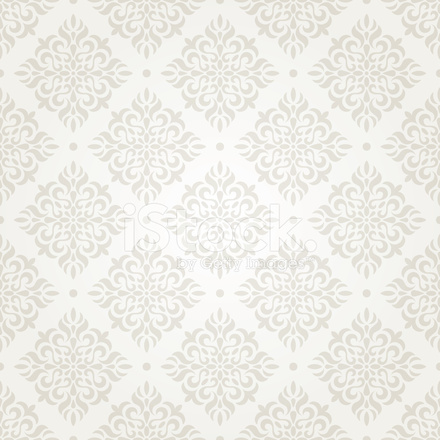 Papel pintado vintage plata stock vector for Papel de pared plata