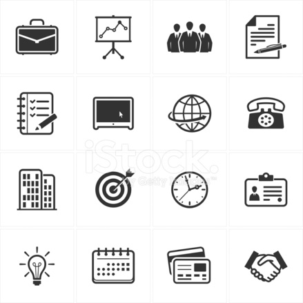 Office And Business Icons 6204