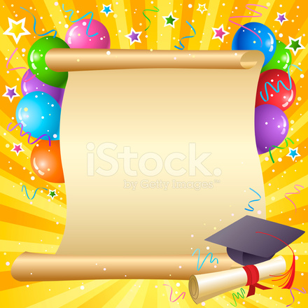 Graduation Background Stock Vector - FreeImages.com