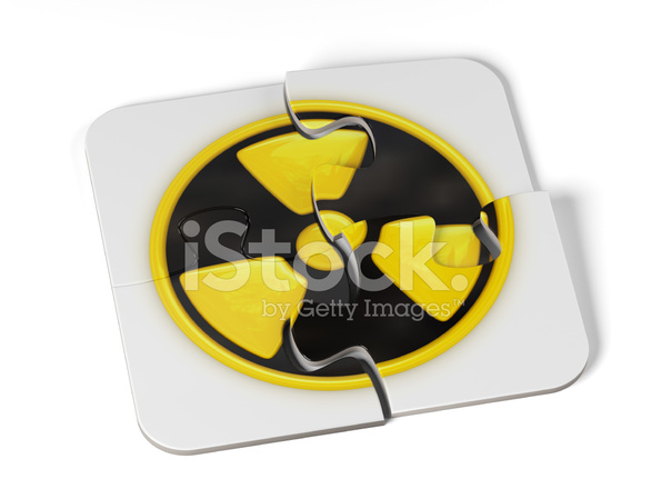 Danger Radioactive Sign Puzzle Stock Photos Freeimages