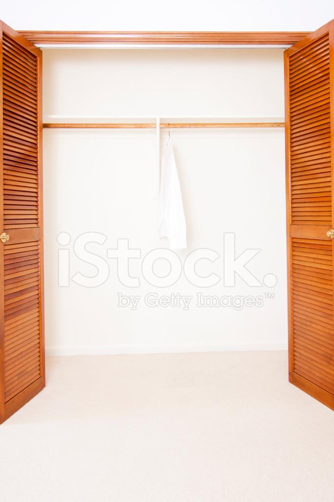 Lone Shirt IN Closet stock photos - FreeImages.com