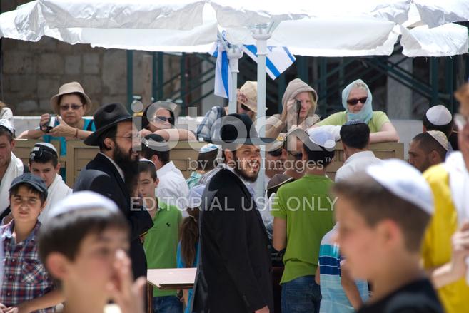Ebrei Ortodossi A Gerusalemme Fotografie stock - FreeImages com