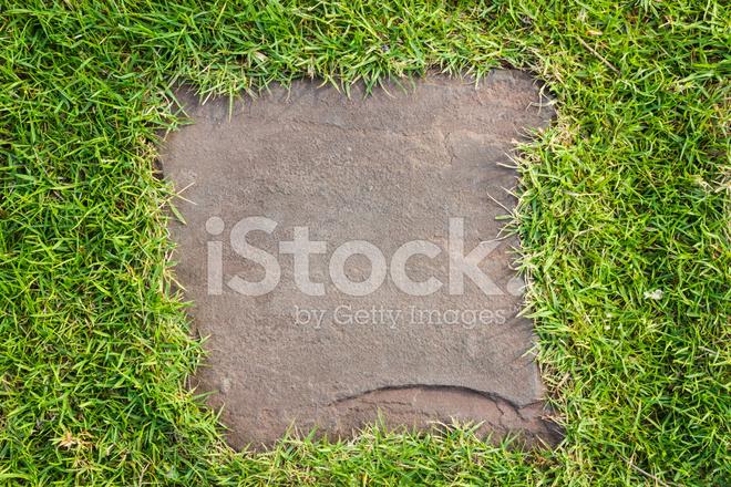 Stone walkway in the garden stock photos for Rocky waters motor inn fire damage