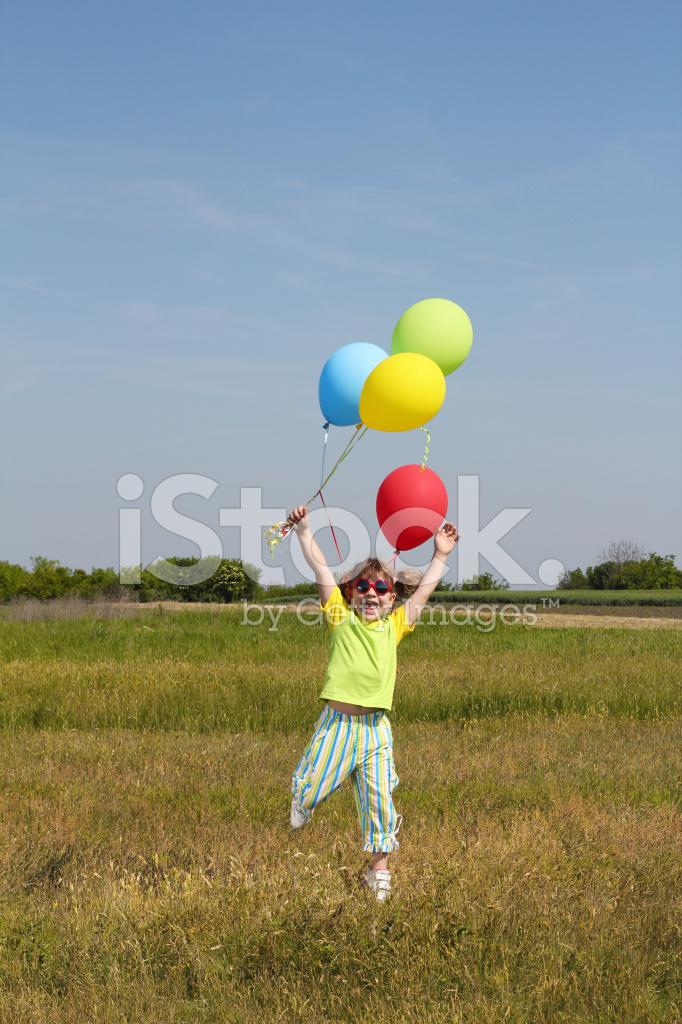 как сделать фото м шарикам в прыжке сложное это