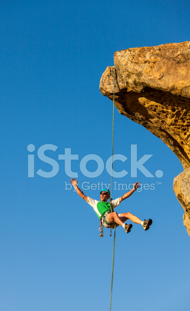 climber rappelling from the stock photos   freeimages