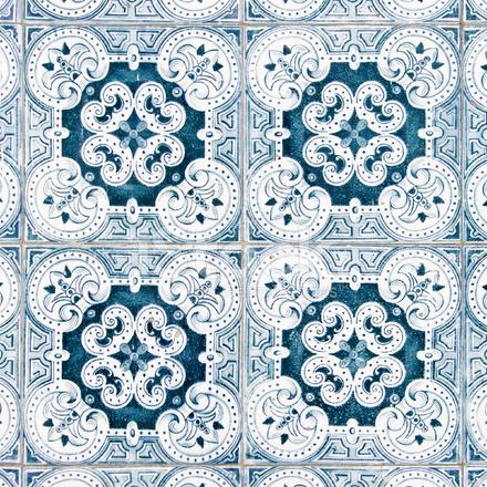 Vintage azulejo texture from portugal stock photos - Azulejos vintage ...