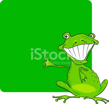 Color Verde Y Rana Cartoon Stock Vector - FreeImages.com