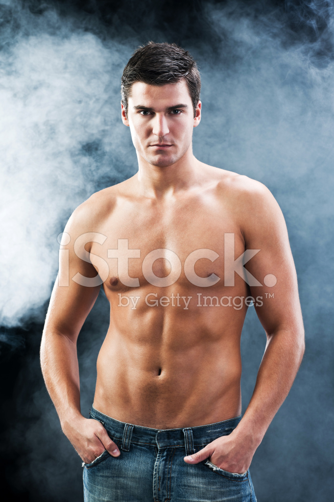 Modelo masculino desnudo fotos de Stock - Registrate