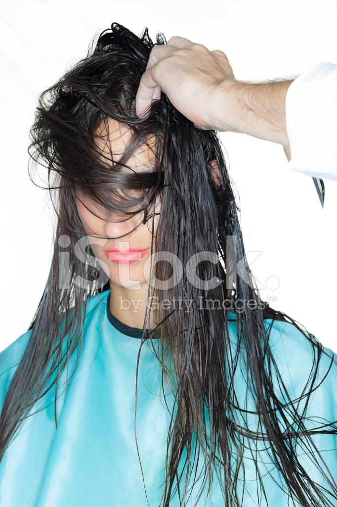 Womens Haircut Stock Photos Freeimages Com