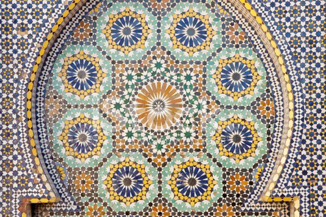 Piastrella mosaico marocco fotografie stock freeimages