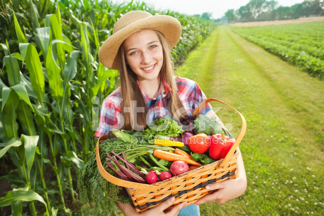 Girls young farm tales of