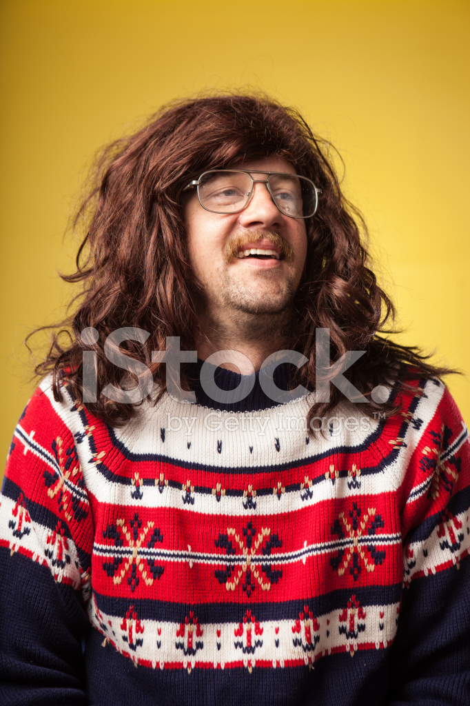 lange haare und brille
