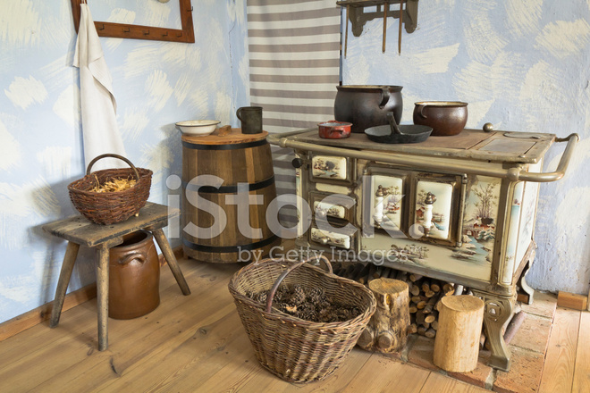 오래 된 시골풍 주방 인테리어 스톡 사진 - FreeImages.com
