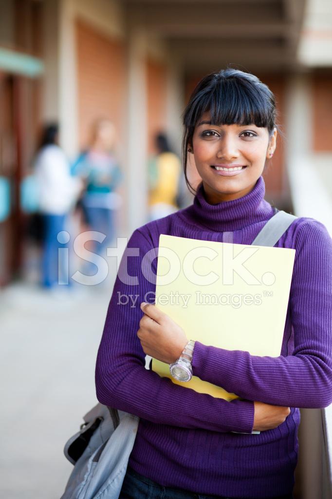 Indian High School Girl Stock Photos - Freeimagescom-5340