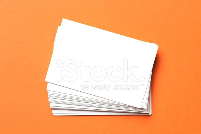 Leere Visitenkarten Stockfotos Freeimages Com