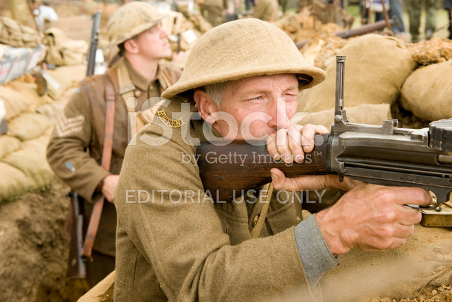 ww1 machine gunner