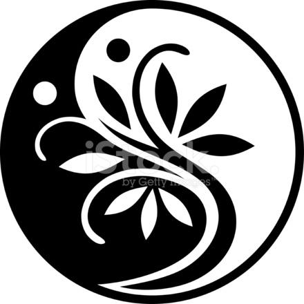 yin yang tree stock vector freeimages com yin yang logo vector free download yin yang logo free vector