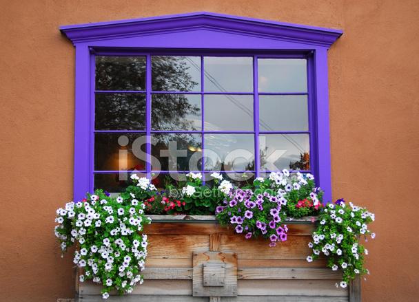 Fenster Blumenkasten Stockfotos Freeimages Com