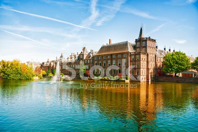 Nederlandska Parlamentet I Haag Nederlanderna Stockfoton