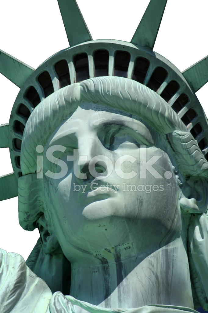 734d460a51320 Statue of Liberty Face Isolated Stock Photos - FreeImages.com