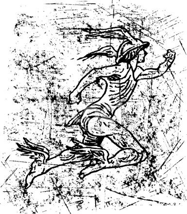 Mercury Roman God, Hermes Stock Vector - FreeImages.com