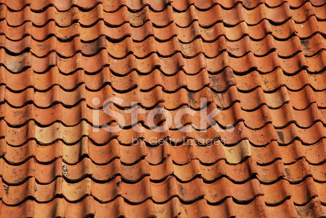 Texture di sfondo vecchio tetto tegola fotografie stock