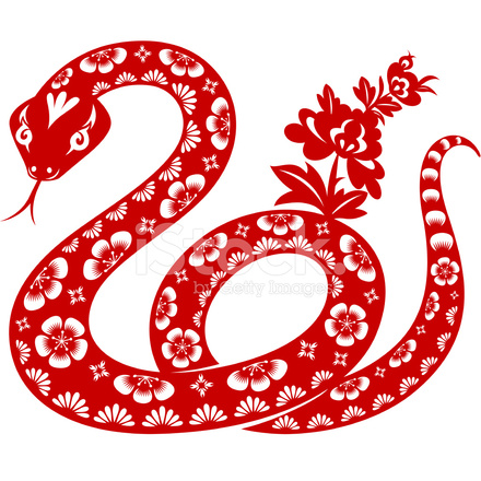 Year Of The Snake Stock Vector Freeimages Com