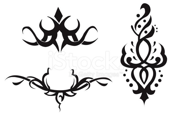 Vector Tribal Symbols Stock Vector Freeimages