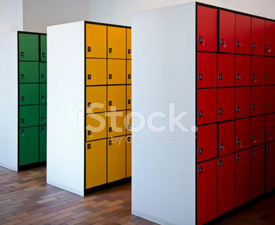High School Locker Room Description