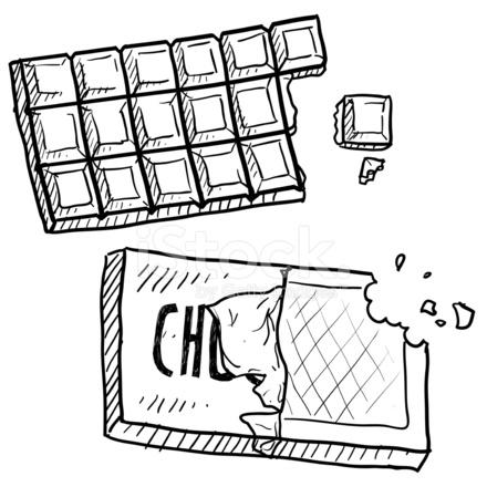Chocolate Bar Sketch 802219