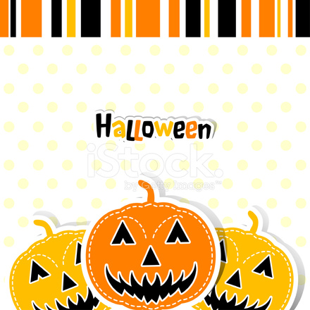 Plantilla Tarjeta DE Felicitación DE Halloween Stock Vector ...