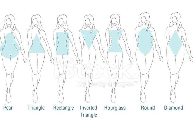 Fashion body types stock vector freeimages fashion body types ccuart Image collections