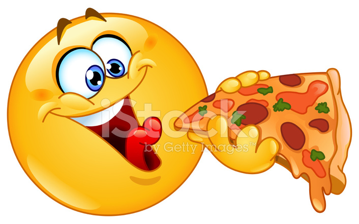 emoticon eating pizza stock vector freeimages com Red Circuit Board Red Circuit Board