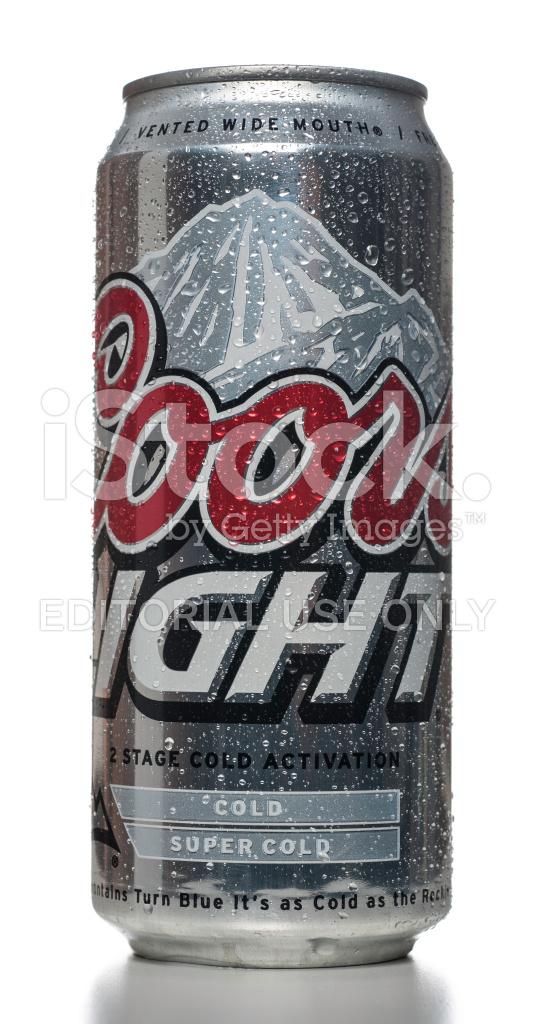 Lata De Cerveza Cerveza Coors Light 1